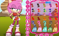 Amy Rose Dress Up