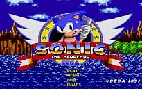 Sonic on Angel Island